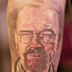walter white tattoo breaking bad