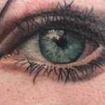 robert veldman tattoo eye tattoo